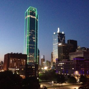 The allure of the downtown Dallas skyline, as captivating now as ever.
