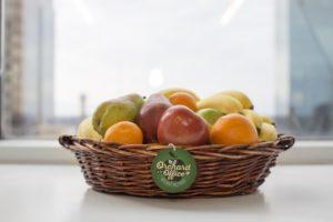take a break with fresh fruit