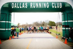 Dallas Running Club Race