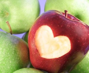 Apples are heart healthy